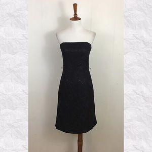 1b6c9f6071dcc White House Black Market Dresses - WHBM Strapless Lace Sequins Sheath Cocktail  Dress